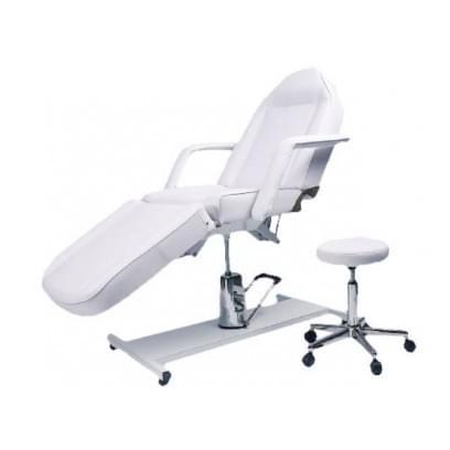Кушетка косметологическая, кресло Комфорт на гидравлике