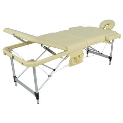 Массажный стол складной алюминиевый JFAL01A (МСТ-102Л)